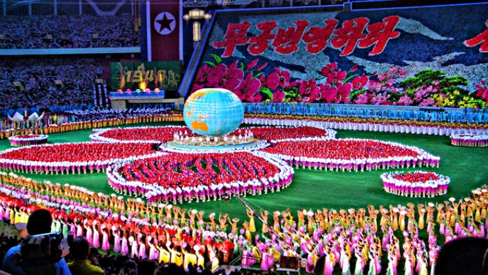 Because of safety reasons we removed Mass games in North Korea from my bucket list.