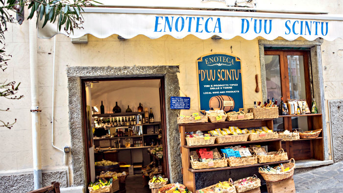In enoteca you can have wine with snack.