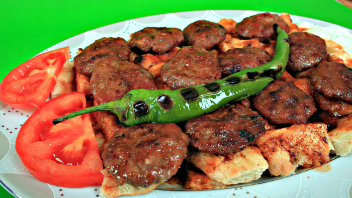 Greek meatballs taste different from meatballs in other countries.