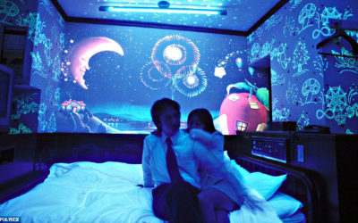 Trapped inside the love hotel in Japan
