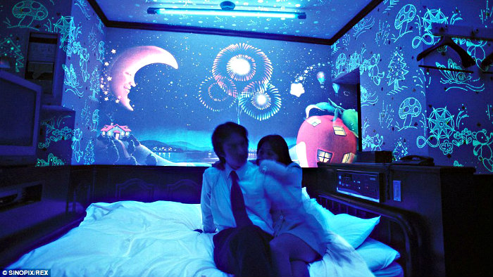 Japanese love hotels are good not only for intimate seclusion, but also for tourists.