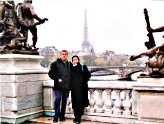 Traveling through 8 European countries.