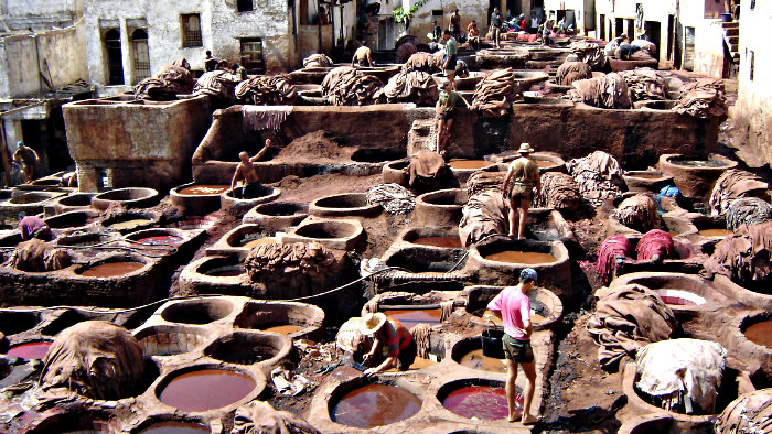 Tanneries are among the top attractions in Medina