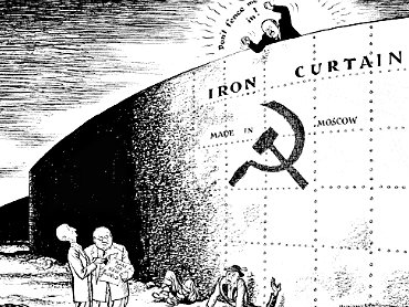 In the USSR, traveling to other countries was impossible for the majority of Soviet citizens.