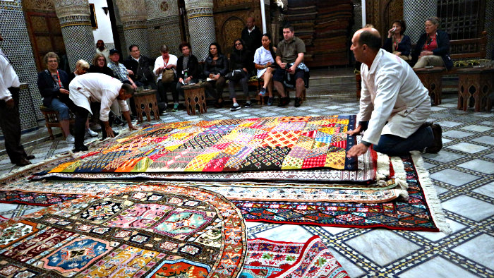 Would you like to buy a carpet at a tourist price?