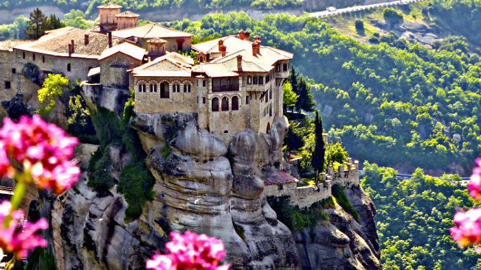 Meteora is our favorite place in Greece!