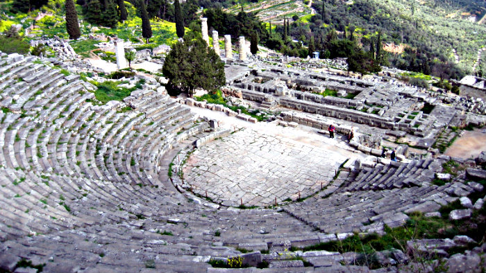 Olympia - site of the first Olympic Games.