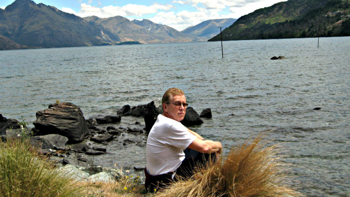 Beautiful views on Lake Wakatipu.