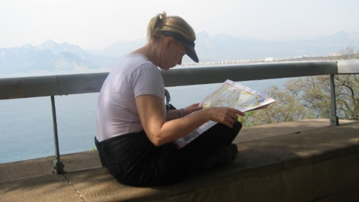 Before each trip, I try to learn as much as possible about my next country.