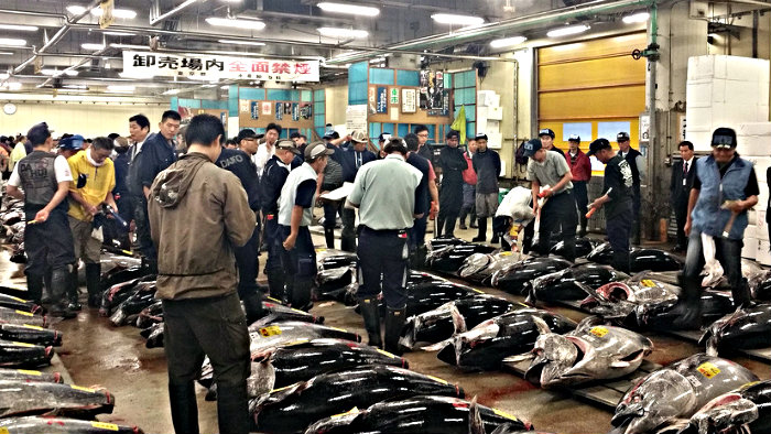 Tsukiji Fish Market in Tokyo is a must-see attraction.