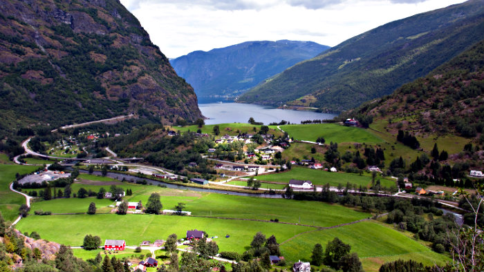 Flam is one of the most popular destinations in Norway.