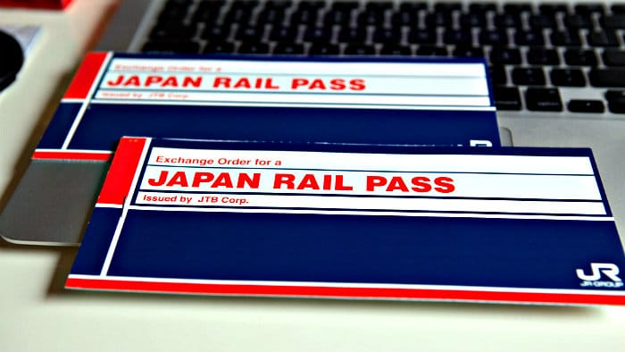 Do not leave home without Japan Rail Pass.