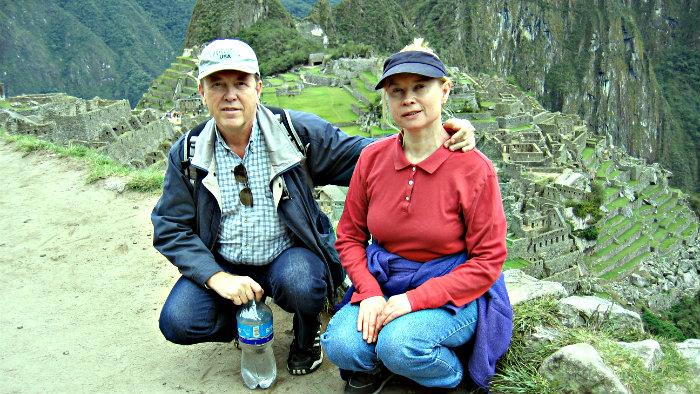 Machu Picchu, the Lost City of the Incas.