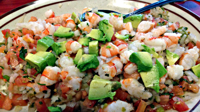 Ceviche is a popular dish all over Latin America.