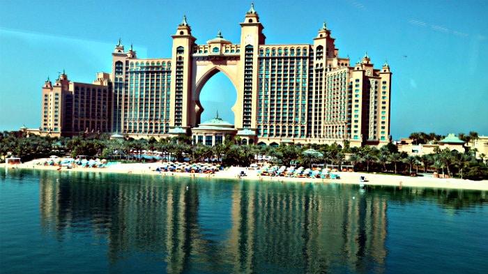 Atlantis hotel in Dubai.