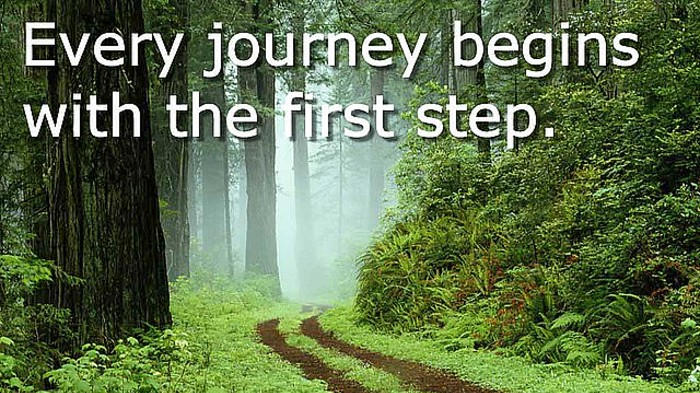 Go ahead! Make this first step!