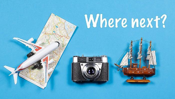 We travel for travel's sake.