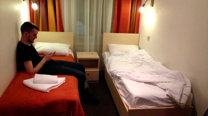 In Moscow and St. Petersburg you can choose from hundreds of hostels.