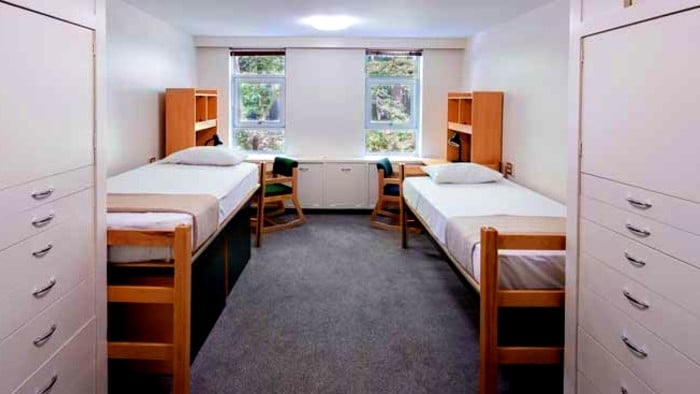 Scandinavian hostels are clean, spacious and comfortable.